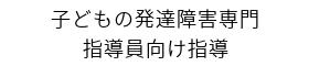 子どもの発達・療育支援 浜田悦子